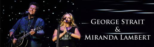 George Strait Miranda Lambert Vegas